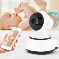 720P High-definition Wireless Camera - White