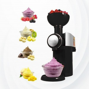 Swirlio Frozen Fruit Ice Cream Dessert Maker-black