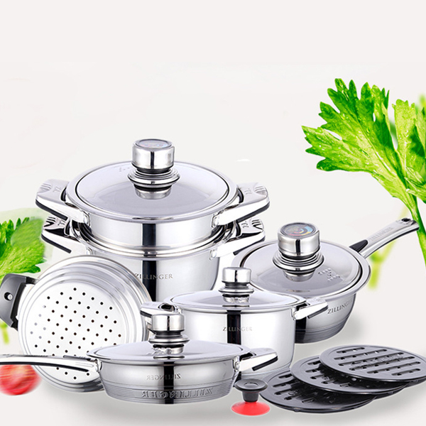 Stainless Steel Heavy Duty Cooking Range Set