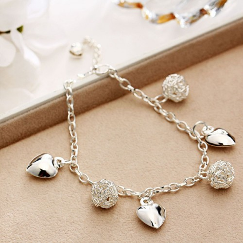 Boho Silver Plated Quality Anklet Chain
