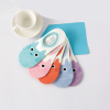 Kitten Prints Five Colors Socks Pair Set