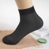 Transparent Net Summer Short Socks - Black
