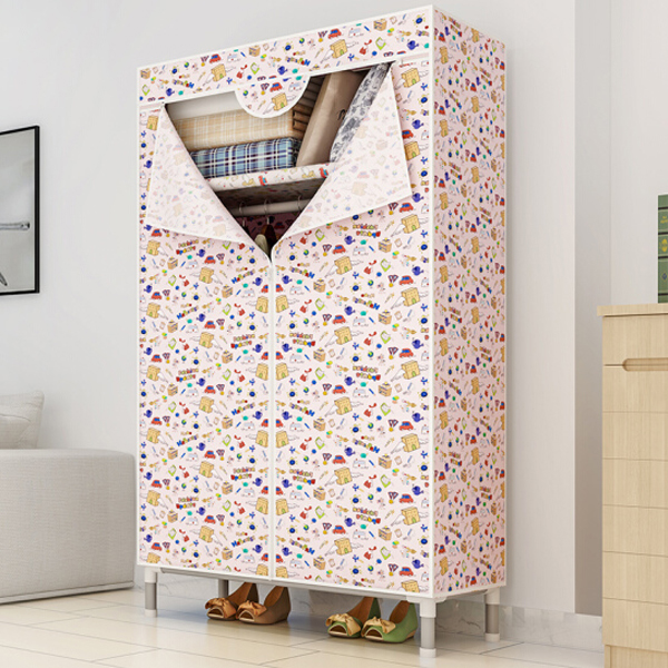 Cartoon Prints Two Sides Smart Wardrobe