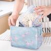 Flamingo Prints Zipper Closure Lunch Bags - Two Colors
