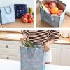 Flamingo Prints Zipper Closure Vertical Lunch Bags - Two Colors