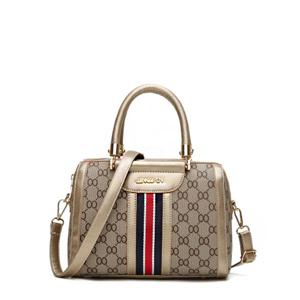 Fine Quality Designers Golden Contrast Handbags