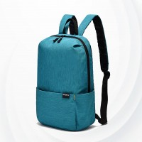 Smart Casual Wear Zipper Backpack - Blue