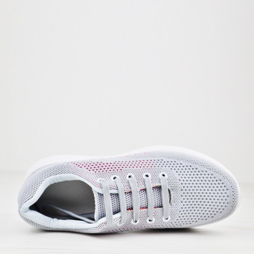 Canvas Sports Wear Gym Sneakers - Grey