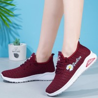 Breathable Summer Special Sports Wear Running Shoes - Red