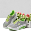 Summer Mesh Casual Breathable Shaking Shoes Gray
