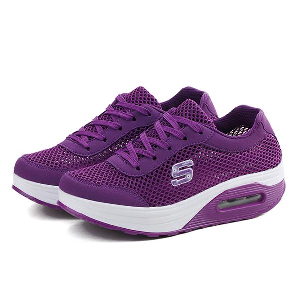 Super Fit Women Casual Fashion Sports Shoes Purple