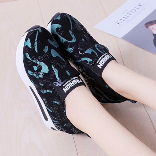 Camouflage Exclusive Trends Sports Wear Shoes - Green