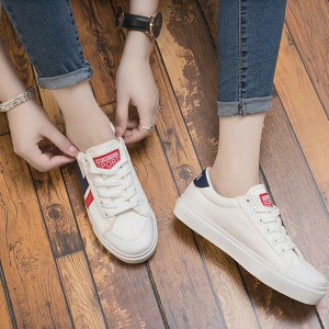 Flat Soft Bottom Laced Sneakers - Blue