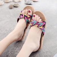 Indoor Flooring Soft Bottom Non-slip Women Sandal - Purple