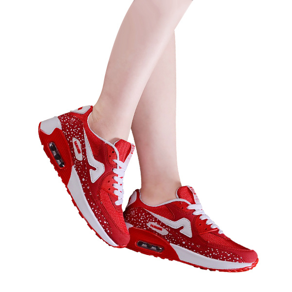New Attractive Red Sports Shoes For Women