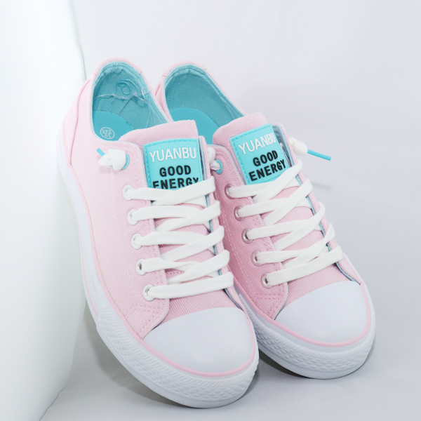 Cool And Comfortable Laced Teenage Pink Sneakers