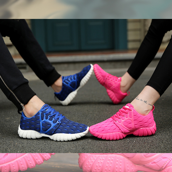 Female Casual Running Shoes Light Travel Shoes Blue