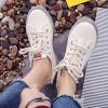 Korean Fashion Canvas Ladies Wild Sneakers White
