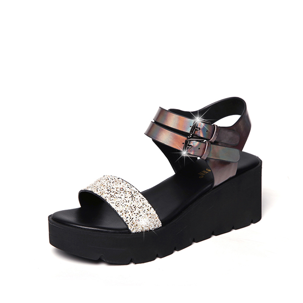 High Heel Charm Fashion Cool Sexy Thick Bottom Sandals
