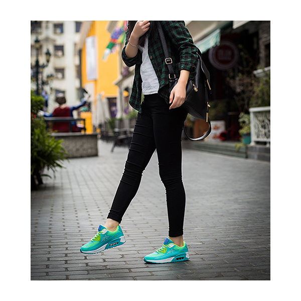 Ladies Sneaker Shoes Fashion Comfortable Running Shoes Blue