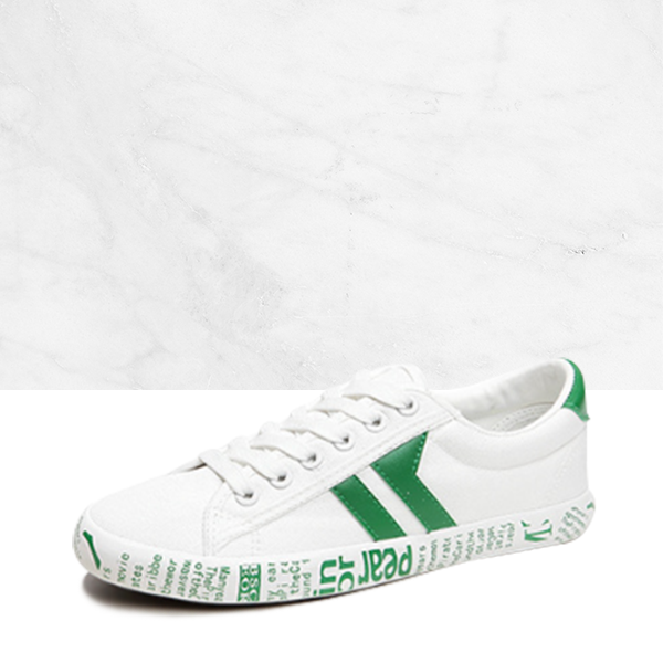 White Green Teenage Best Sportswear Sneakers