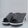 Cool Slippers Thick Bottom Muffins Casual Sandals Black