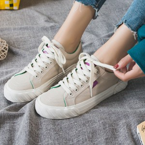 Lace Up Canvas Sports Wear Summer Sneakers