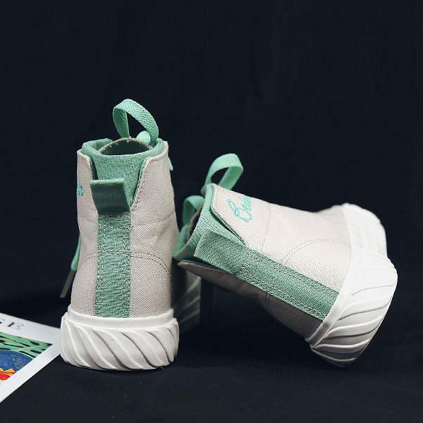 High Top Collection Canvas Summer Sneakers