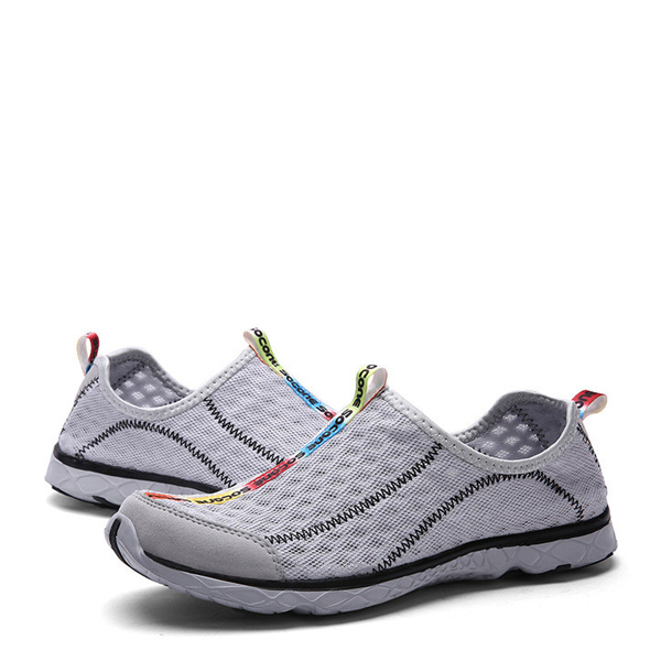Breathable Super Running Gray Sports Shoes For Men