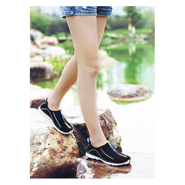 Breathable Super Running Black Sports Shoes Unisex
