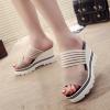 Heavy Bottom Comfortable Khaki Sandals