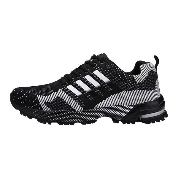 Jogging Sneakers Black Comfortable Lightweight Men Shoes
