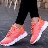 Casual Sports Women Breathable Running Shoes Orange