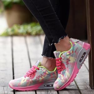 New Summer Fashion Women Flats Out Door Walk Flats Shoes Pink Gray