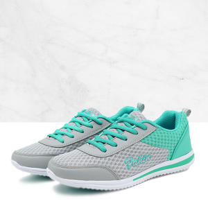 Motion Control Running Shoes Athletic Women Sport Shoes Sea Green