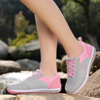 Motion Control Running Shoes Athletic Women Sport Shoes Pink