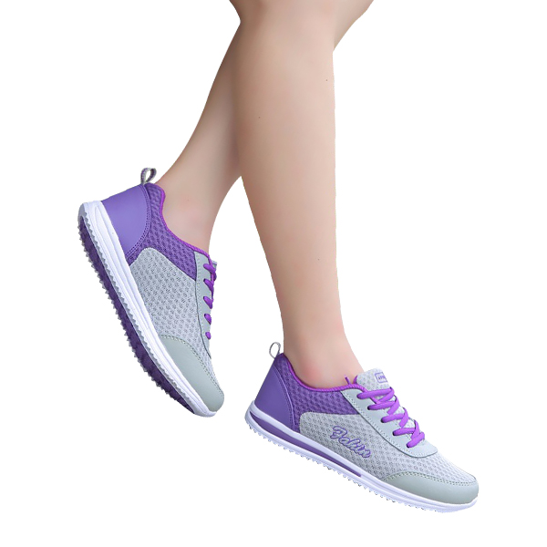 Athletic Running Shoes For Women Sports Shoes Purple