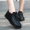 Cool Rubber Bottom Quality Black Sneakers