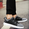 Unisex Canvas Sports Shoes Thick Bottom Black