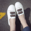 Flat Slip On Casual Daily Wear Sneakers - White