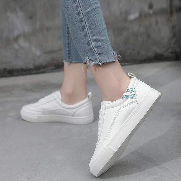 Flat Soft Bottom Students Casual Wear Sports Shoes - Blue