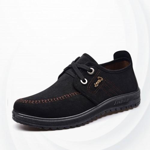 leather canvas shoes mens