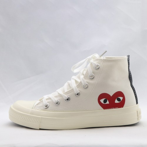 Laced White Long Casual Sneakers