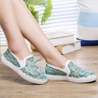 Flat Korean Fashion Women Summer Shoes Green