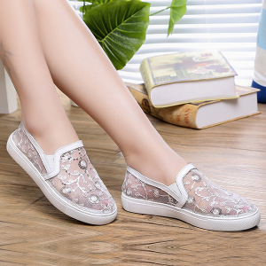 Flat Korean Fashion Women Summer Shoes White