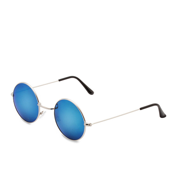 Top Selling Unisex Round Light Blue Glasses 2017