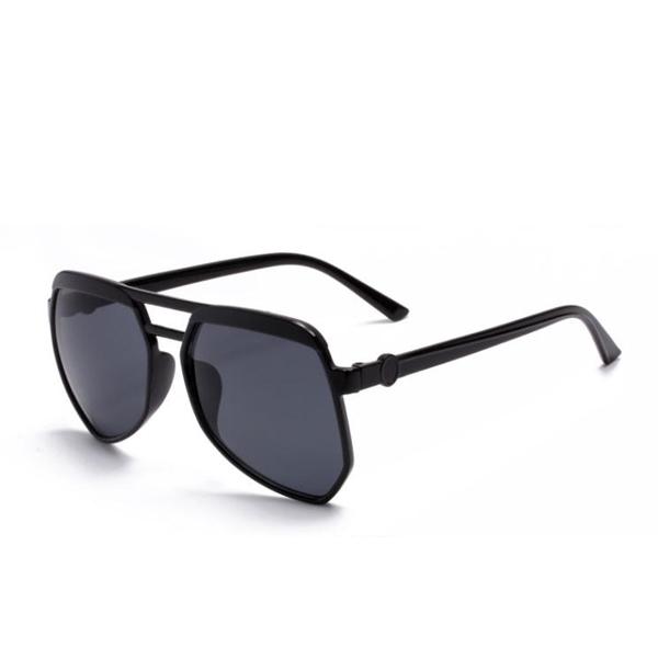 Black Polygonal Shaped New Sunglasses For Women