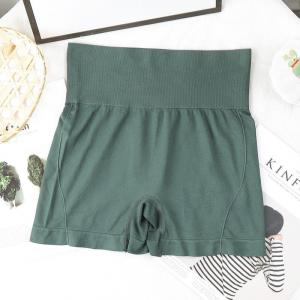 High Waist Slim Wear Stretchable Women Underwear - Green