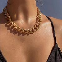 Thick Braid Gold Plated Women Fashion Chain