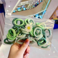 Elastic Hair Styling Multi Occasion Women Fashion Hair Bands - Green